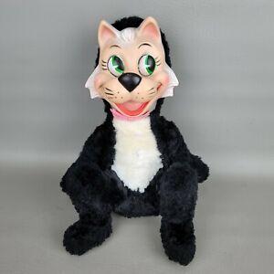 Vintage Rubber Face Knickerbocker Toy Mr. Jinx Rare Collectible 1959