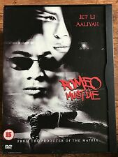 Jet Li Aaliyah ROMEO MUST DIE ~ 2000 Martial Arts Thriller | UK DVD