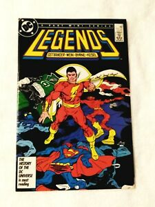 LEGENDS #5 SHAZAM! BATMAN, SUPERMAN, VF/NM 9.0, DC COMICS 1987, COMBINED SHIPPIN