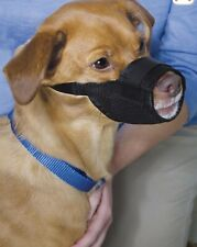 BRAND NEW DOG MUZZLE  BLACK  SIZE MEDIUM - In PACKAGE