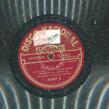 TANGO CHARLO - NELLY / LAS VUELTAS DE LA VIDA - 78 Disk