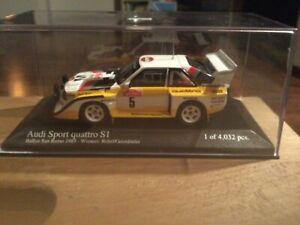 Audi Quattro S1 Rally Sanremo Minichamps 1:43