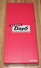 DAY6 EVERY Day6 CONCERT IN JULY OFFICIAL GOODS K-POP TICKET BOOK + PHOTOCARD SET