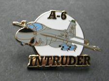 GRUMMAN A-6 INTRUDER ATTACK AIRCRAFT LAPEL PIN BADGE 1.5 INCHES US AIR FORCE