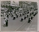 LG801 1947 Original Fred Hess Photo YAARAB TEMPLE BAND Shriners Parade March