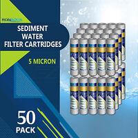 50 Pack Of Sediment Water Filter Cartridges Reverse