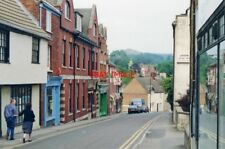 PHOTO  1990 DURSLEY: LONG STREET VIEW EASTWARD WITH DOWNHAM HILL (653 FT.) ON HO