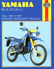 0887 Haynes Yamaha RD & DT125LC (1982 - 1987) Workshop Manual