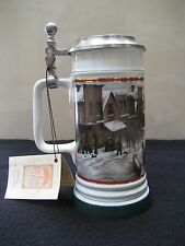 Coors 1989-90 Winterfest I Lidded Beer Stein Limited Edition 2 Of 6 Available!