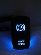5 Pin Rocker Switch ON-OFF Blue Park Brake Pattern for Car truck boat 12V - 24V