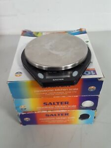 Set of 3 Boxed Salter 5-Pound Microtronic Kitchen Scales