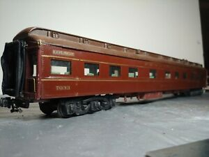 Vintage O Scale  PRR  Car Walthers Dinner &  trucks interior wood & metal const