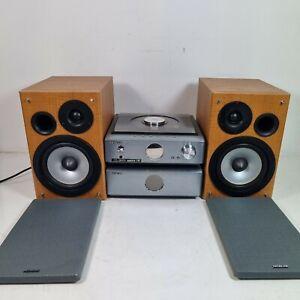 Hitachi AX-M71 Micro Bookshelf Hi-Fi Stereo Amplifier, Tuner, CD, MP3, No Remote