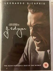 J. Edgar DVD (2012)(15) Leonardo DiCaprio, Eastwood (DIR) VGC with FREE P&P!!!