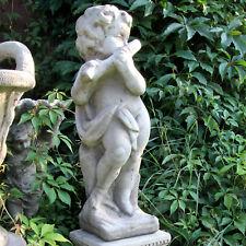 Gartenfigur Steinfigur Dekofigur 60cm 23kg Statue Mädchen Skulptur Steinguss