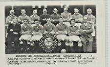 SPORT. FOOTBALL. LEICESTER CITY F C 1954 - 55. CHAMPIONS DIV 2.