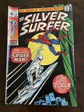 The Silver Surfer 14 Comic Book Spider-Man