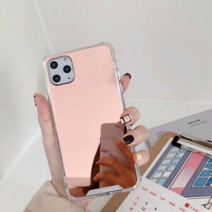 Luxury Mirror Shockproof Bumper Case Cover For iPhone 13 12 11 Pro Max XS Phone