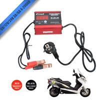Caricabatterie Auto Mantenitore Batteria di Carica Automatico per Moto 6V-24V