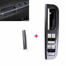 Door Window Switch Panel Bezel+Handle Trim For VW MK4 Jetta Bora  Golf Passat B5