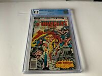 INVADERS 12 CGC 9.2 WHITE SPITFIRE CAPTAIN AMERICA TORCH MARVEL COMICS 1977