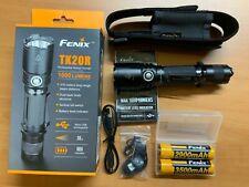 Fenix TK20R Rechargeable Tactical flashlight. EDC flash light.