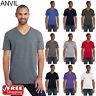 Anvil Men's T-Shirt Lightweight Fashion V-Neck Tshirt S-XL T Shirt 982 Top Tee