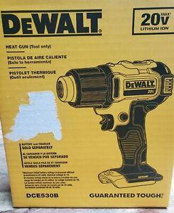 Dewalt DCE530B 20V MAX* HEAT GUN (TOOL ONLY)