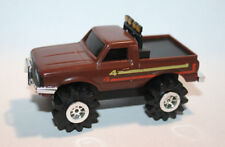 Schaper Stompers Datsun brown truck runs w/ light