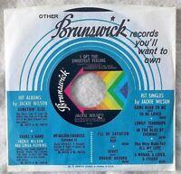 "Jackie Wilson I GET THE SWEETEST FEELING 1968 45rpm 7"" Northern Soul MISPRINT"