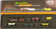 Marklin Märklin Z 8138 Länderbahn Kohlenzug Era I Usato Si BOX Funzioni OK