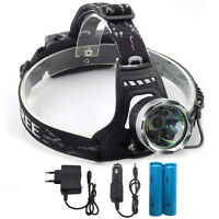 LED Headlamp high Power Head light Torch XML T6 for Fishing Camping Flashlight