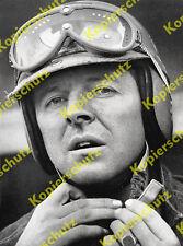 Porträt Wolfgang Graf Berghe von Trips Formel 1 Helm Wappen Rennsport Auto 1960