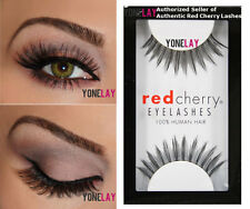 1 Pair AUTHENTIC RED CHERRY #38 Daisy False Eyelashes Human Hair Fake Eye Lashes