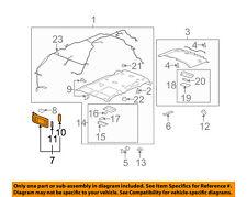 GM OEM Sunvisor-Sun Visor Right 22850311