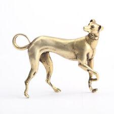 EDC Pure Copper Zodiac Dog Ornament Solid Pure Copper Gold Dog Handle