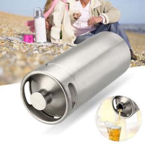 5L 10L Beer Stainless Steel Mini Keg Growler Mini Keg Style Home Brew Brewing