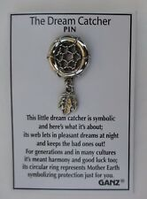 aa Dream Catcher Pin lapel tack Ganz keep out bad dreams harmony protection