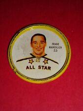 1962-63 Shirriff/Salada Coins #43 Frank Mahovlich Toronto Maple Leafs Vintage