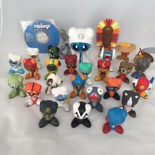 Lot of 26 UB RADICA FUNKEYS 1 Hub '07 Disc Rare Figures Speed Racer Tested Works