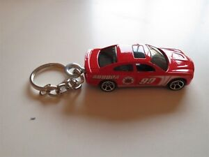 2010 2011 2012 2013 DODGE CHARGER RT R/T DIECAST MODEL TOY CAR KEYCHAIN RED