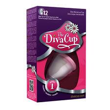 New DivaCup-Model 1 Menstrual Flow Revolutionary Women Period Feminine Care