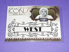2008 Celebrity Cuts MAE WEST Hollywood Icons Gold/25 My Little Chickadee - Sex