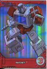 Transformers Optimum Generation 1 Foil Chase Card TF5 Ratchet