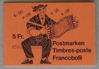 s670) Schweiz Markenheftchen 1984  MH 0-78 l ESST Postcheque KW 160 Euro