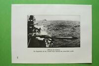 RWg) Schlacht 1914-1918 Torpedo Abschuss Lancier Rohr Boot Schiff (1926) 1.WK