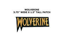 XMEN Iron on Patch Comics X-MEN MARVEL COMICS MOVIE LOGO HALLOWEEN COSTUME