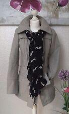 """Vêtement Occasion femme ... Manteau en Laine """" Promod """"... T : 34"""