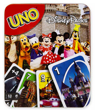 Disney Parks UNO Card Game Collector Tin Theme Parks Edition Sealed - NEW