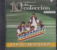 Los Temerarios 10 De Coleccion CD Nuevo Sealed